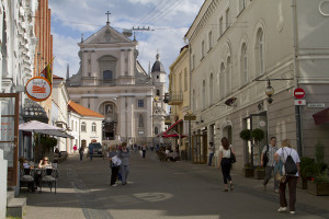 This city has just about as many churches as Malta... every street seems to lead to one...