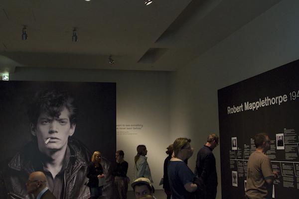 We happened to be in town during Kiasma's big Robert Mapplethorpe exhibit...