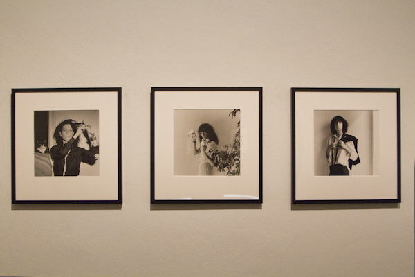 His early photos of Patti Smith were his best and most intimate work...