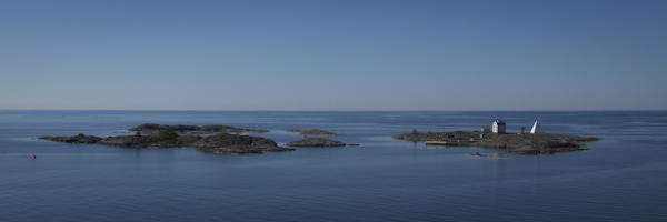 Leaving the Åland archipelago...