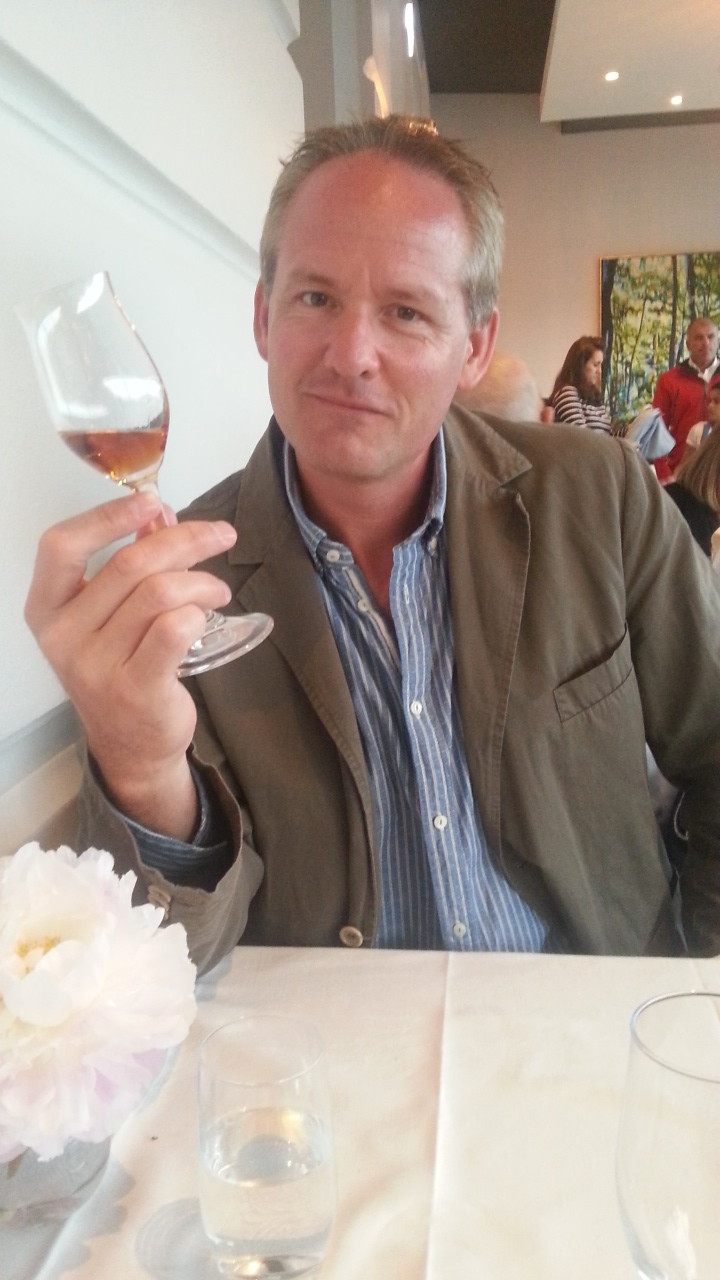 Enjoying a vintage 1973 armagnac at the Grand Hotel...