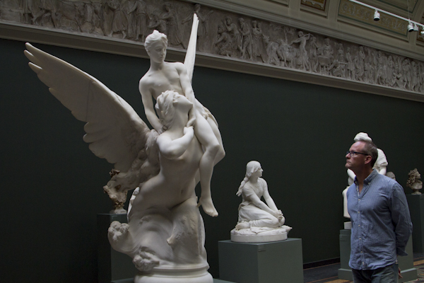 Exploring the world of sculpture at the NY Carlsberg Glyptotek — their classical archaeology collection was incredible...