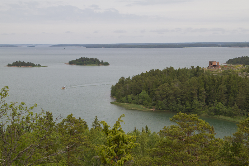Views across some of Åland's many islands and inland waterways...