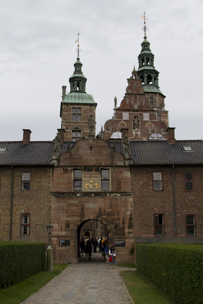 Rosenborg is the sort of palace I could live in...