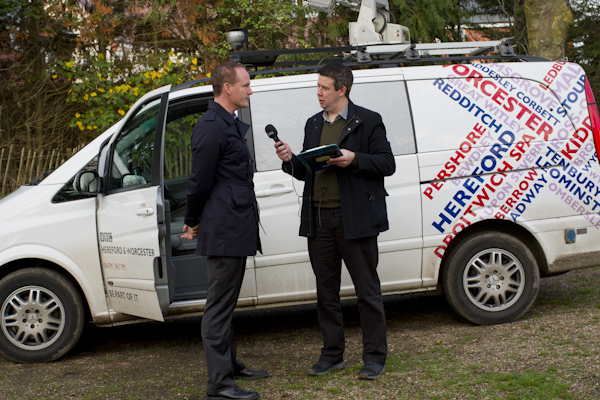 Early morning talk with BBC radio about the importance of remembrance