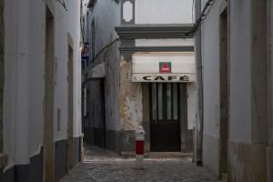 Tavira's quiet back streets...