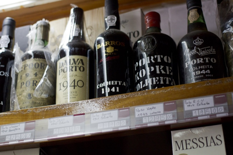 """""""And to round it all out?"""" I asked. """"This 10 year old tawny port,"""" he said, turning quickly to the shelf behind him."""