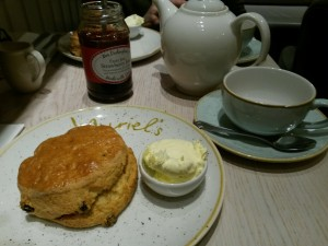 Fancy a scone with clotted cream...?