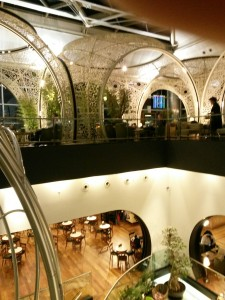 Turkish Airlines flagship Istanbul lounge