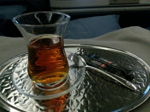 ...or you can have Turkish tea if wine or cognac aren't your style...