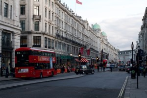 A lovely day for a walk down Regent Street...