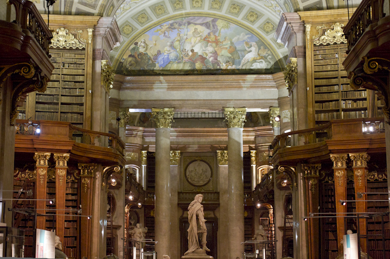 If there's a heaven for me, it would look like this library...