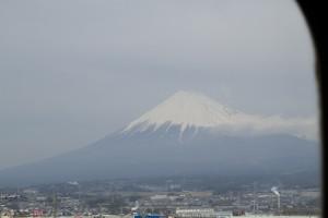 300 kph Mt. Fuji view...