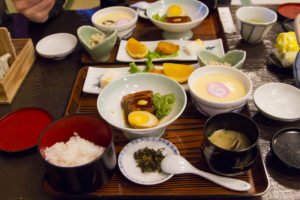 Chawanmushi — one of the many specialties to be found in Nagasaki...