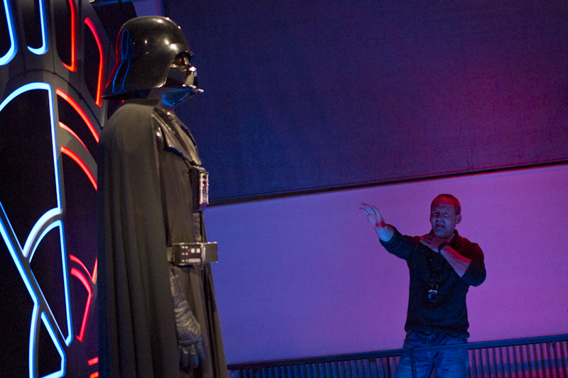 Up yours Vader... I hate this shitty job!