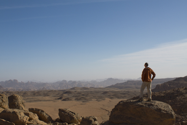 You'll walk through desert landscapes few others have seen...