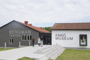 Our first stop was the Bergman center to see artifacts from the films...
