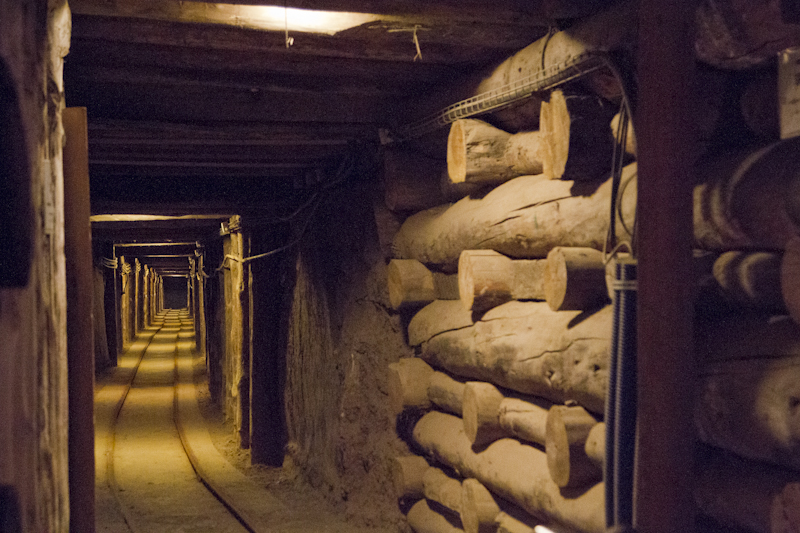 Commercial mining began at Wieliczka in the 13th century...