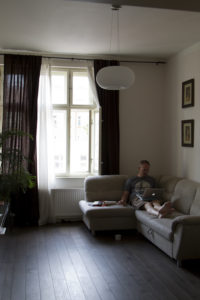 A day in the life — working on the road from my rented flat...