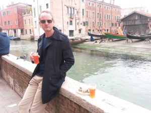 The Aperol spritz is the perfect Venice lunchtime drink...