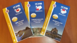 These are a few of the maps I picked up for Iceland...