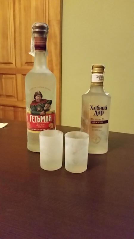 Cold icy lands were the birthplace of vodka...