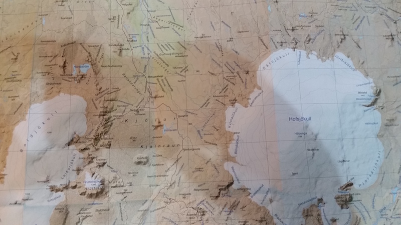 Going beyond requires careful reading of the maps...