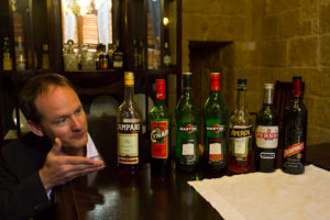 The Mediterranean countries of Europe gave us the tradition of the aperitif...